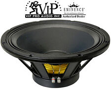 "Eminence Omega Pro-18A Pro Hi-Quality 18"" Sub Woofer 8-Ohm 1600W Speaker -New-"