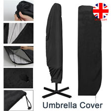 Extra Large Patio Cantilever Parasol Banana Umberlla Cover Waterproof 280cm UK