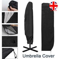 Extra Large Patio Cantilever Parasol Banana Umbrella Cover Waterproof 280cm UK