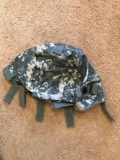 Genuine US Military ACU LG XLG ACH Helmet Cover W/ NVG Flap IR Tabs USA