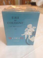 VINTAGE 1960 WORTH PARIS JE REVIENS 90 Eau De Cologne