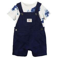 Carter's Tie-Dye Tee & Solid Shortalls Set Sometimes Crabby Baby Boy Sz. 9M NWT