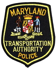 MARYLAND – TRANSPORTATION AUTHORITY – MD Sheriff Police Patch STATE SEAL ~