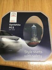 Genuine Toyota Prius/Lexus CT H11 +60% Optiwhite Upgrade Headlight Bulb Kit x2