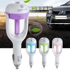 Mini Car Humidifier Air Purifier Freshener Aromatherapy Essential Diffuser Blue