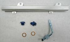 OBX Silver Fuel Rail Fits Nissan Sentra Se-R 2002-2006 QR25DE Spec-V