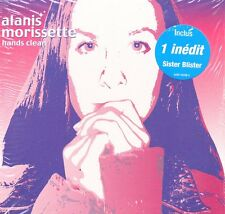 CD single Alanis MORISSETTE	Hands clean 2-track CARD SLEEVE | French Sticker