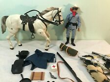 1972 Gabriel LONE RANGER ACTION FIGURE with SILVER & EXTRAS