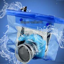 Waterproof DSLR Kamera Unterwassergehäuse Kaste Beutel Etui für Canon Nikon