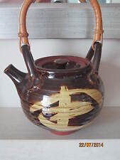Early JOHN POLLEX Studio Pottery Teapot - Oriental Style
