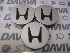 3x Honda Civic Accord Prelude Alloy Wheel Centre Cap Cover 44732-SW5A-J000
