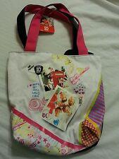 One Direction Girls Bookbag Tote Handbag NEW Multi 1D
