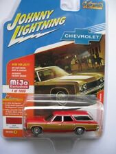 1973 Chevrolet Caprice  Station Wagon Red *RR* Johnny Lightning MiJo excl. 1:64
