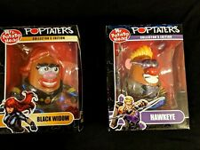 Marvel Legends PopTaters figures..Black Widow & Hawkeye...unopened