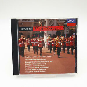 The World Of The Military Band CD Album 17 Great Marches Decca 1997