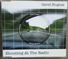 DAVID HUGHES Shouting At The Radio (2000) Three Track UK CD NEW  Eddi Reader