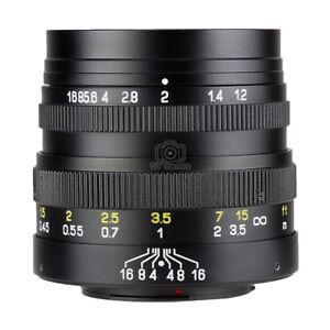Zhongyi Mitakon FREEWALKER 42.5mm f1.2 Lens Micro 4/3 Mount M43 MFT