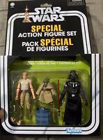 Star Wars Vintage Collection Special Action Set Yoda Luke Skywalker Darth Vader