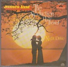 "7"" JAMES LAST the Seduction (love theme)/Night Drive 80`s signifiant"