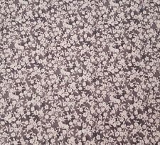 Chocolate Factory BTY I Love Lucy Quilting Treasures Gray White Calico Floral
