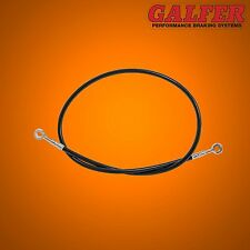 "Galfer 36"" Black Rear  Brake line for Extended Swingarms and Swingarm Extensions"