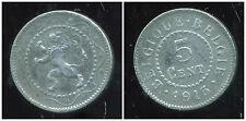 BELGIQUE 5 centimes 1915  ( bis )
