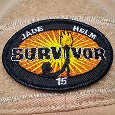 Jade Helm 15 Embroidered Morale Patch Tactical Badge Hook Backed Survivor