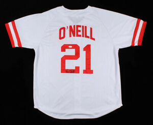Paul O' Neill Signed Cincinnati Reds Jersey (JSA COA) 5XWorld Series Champion