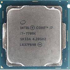 Intel Core i7 7700K CPU 4-Core 8-Thread 4.2 GHz 8M LGA 1151 Processor SR33A