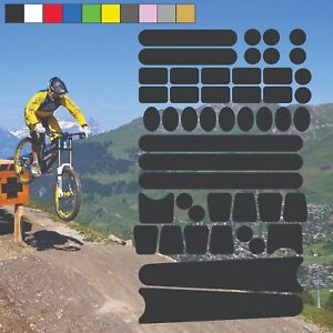 Chainstay and Frame Bicycle Protectors Large Kit Bike Cycle Decals Stickers (4)