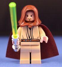 LEGO® STAR WARS™ Rare 7665 QUI GON JINN™ Minifigure JEDI MASTER + LIGHTSABER