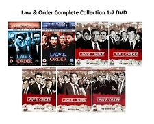 Law and Order Complete Collection 1-7 DVD All Season 1 2 3 4 5 6 7 UK Release R2