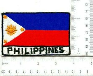 Philippine Flag Patch.