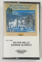 Ronnie Aldrich Cassette Silver Bells Winter Wonderland Tape 1981 Holiday