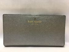 NWT Kate Spade New York Mika Pond Stacy Wallet Anthracite