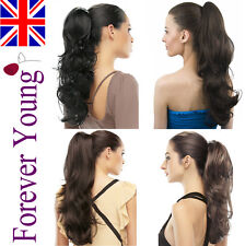 Drawstring Ponytail Hair Extension Piece Clip In Hair Extension. Amazing Style !