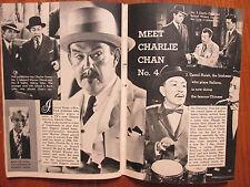 1958 TV Guide(CHARLIE CHAN/VENETIA STEVENSON/JERRY MATHERS/NICK TODD