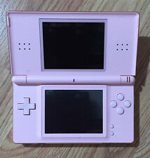 Nintendo DSi LITE, PINK, 15 GAMES, CARRY CASE, POWER CORD, CAR CHARGER, USED