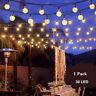 Solar String Lights Waterproof 30 LED Crystal Globe Lamp  Outdoor/Indoor Decor