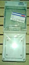 Tableau coffret électrique étanche GW68017 marque GEWISS - 4 modules