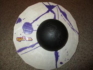 Vintage 1987 Hasbro ORIGINAL POGO BALL Purple and White #3716229 ex cond