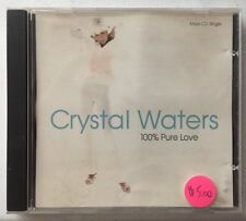 Crystal Waters: 100% Pure Love CD Single Mercury Records