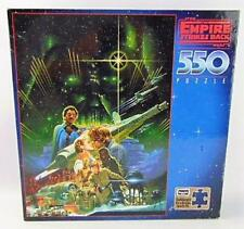 Jigsaw Puzzles, Rose Art 1996 Star Wars Th Empire Strikes Back 550 Free Ship