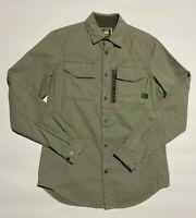 G-Star RAW rackler twill zip shirt l/s
