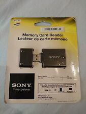 Genuine SONY Memory Card Reader for  Memory Stick Duo & SD/SDHC (MRW68E-D1)
