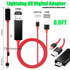 Lightning to HDMI Adapter Cable For iPhone 11 Pro Max XR XS 6 6s 7 8 Plus iPad