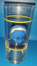 Vintage San Diego Chargers tall Promo Glass from Mobil