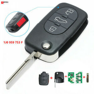for VW Golf Passat Beetle Jetta Remote Control Car Key Fob 315MHz 1J0 959 753 F