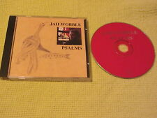 JAH Wobble Psalms 1994 CD Album Dub Synth Pop Rock (18522-2)