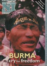 THE NEW INTERNATIONALIST No. 280(June 1996)JOHN PILGER - BURMA'S CRY FOR FREEDOM